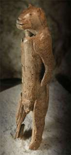 lion-headed figure