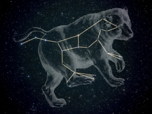 Ursa Major as part of the Great Bear