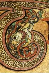 Book of Kells snake