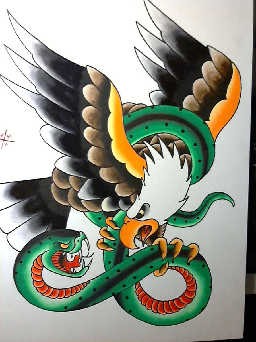 Eagle And Serpent Misfitsandheroes
