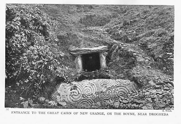 Newgrange, 1905 photo