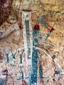 whiteshaman rock art panel