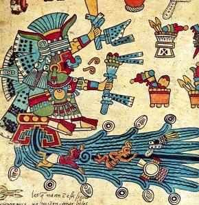 Aztec water goddess Chalciuhtlicue