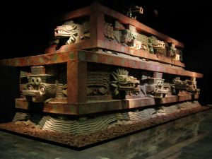 Teotihuacan Facade_of_the_Temple_of_the_Feathered_Serpent