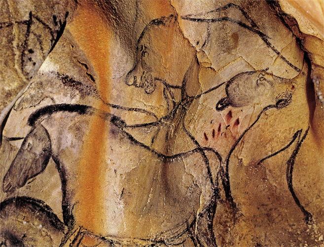 Lion Man Cave Art : Chauvet cave misfitsandheroes