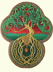 tree of life cast paper by Kevin Dyer