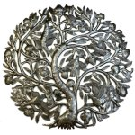 tree of life steel drum art from Global Crafts