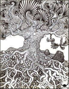 tree Yggdrasil ultime IIby Bog Viking