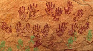 handprints Canyon de Chelley