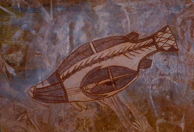 Ancient Rock Painting Australia