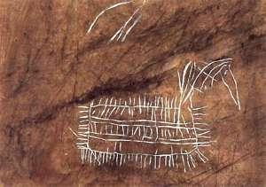 El C. Buxu ideograph horse