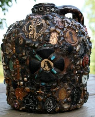 face clergy memory jug on etsy