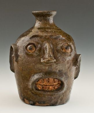 face jug, Milwaukee art museum