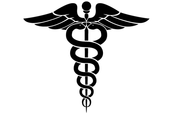 Hermes' staff - the Caduceus, was not a symbol for medicine / healing!
