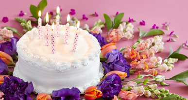 Origins Of Candles On A Birthday Cake