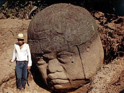 Olmec head unearthed