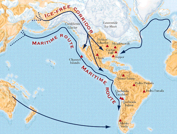 Early human migration into South America misfitsandheroes