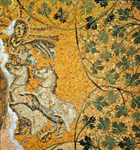 Santa ChristAsSol mosaic