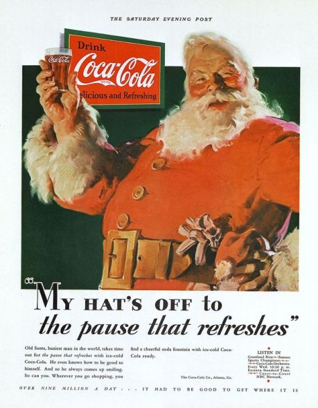 Santa Coca-Cola-Christmas