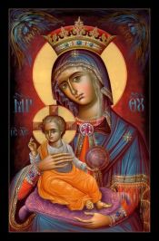 Santa infant with halo