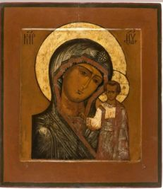 Santa Kzanskaya Mother of God icon
