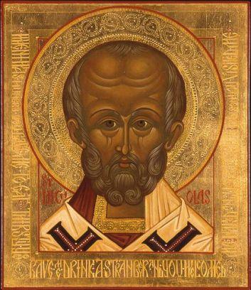 Santa Saint Nicholas icon
