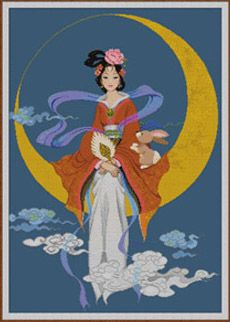 rabbit Chang'e Chinese Moon Goddess