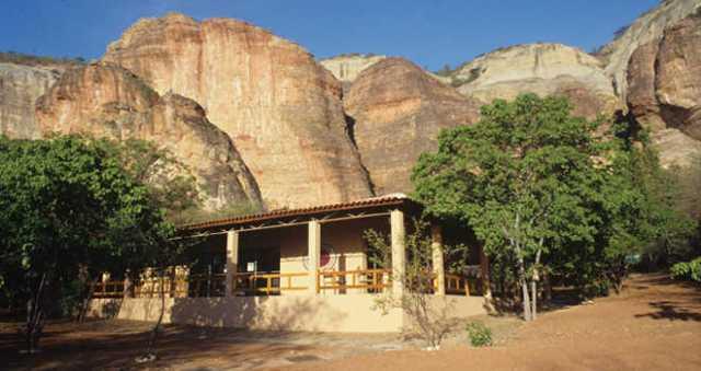 Pedra Serra da Capivara entrance