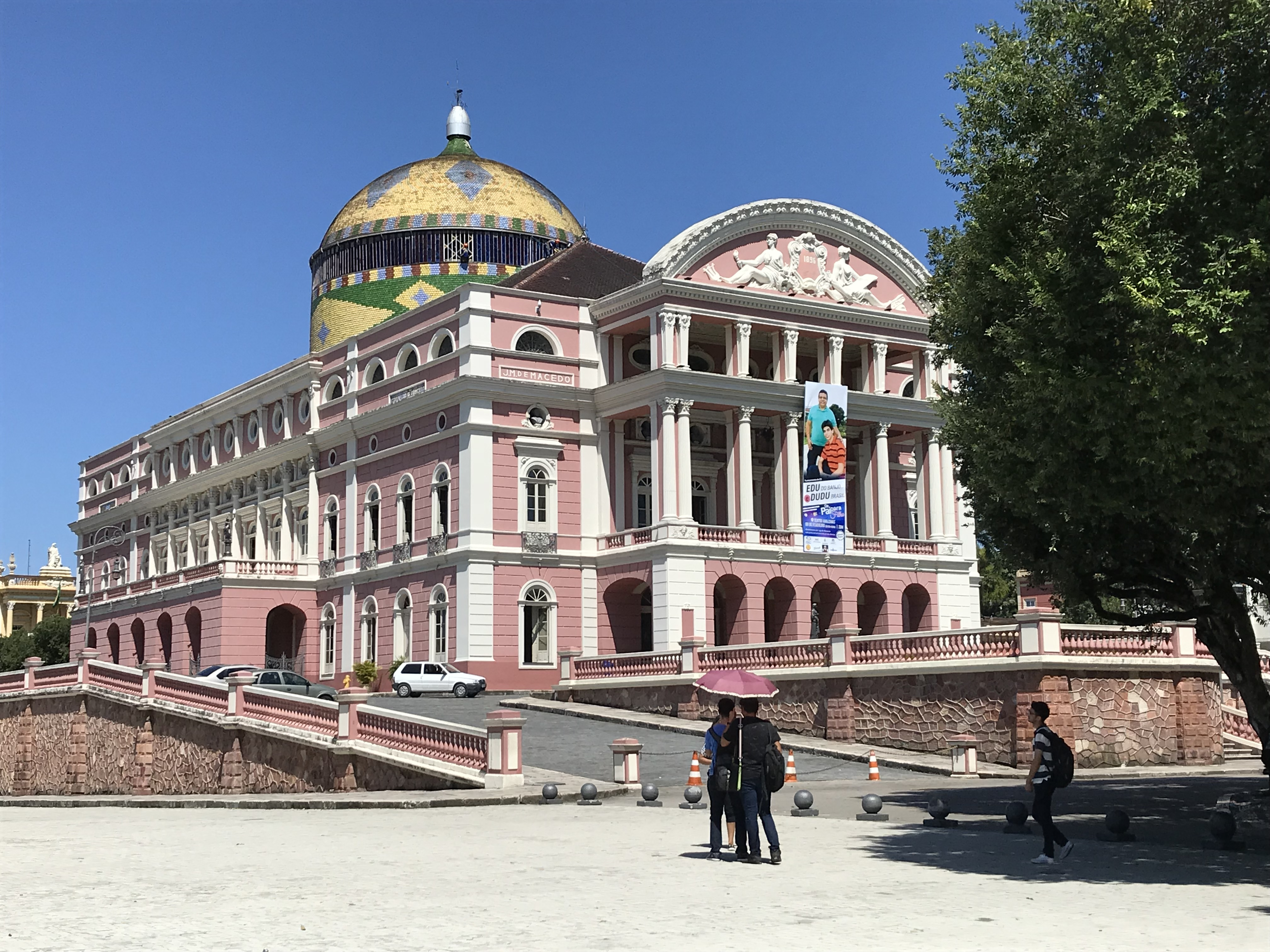 Manaus opera exterior